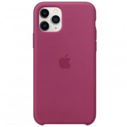 """Oficialus """"Apple"""" Silicone Case dėklas - tamsiai rožinis (iPhone 11 Pro)"""