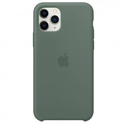 """Oficialus """"Apple"""" Silicone Case dėklas - žalias (iPhone 11 Pro)"""