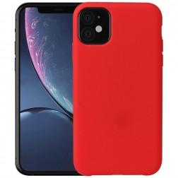 Kieto silikono (TPU) dėklas - raudonas (iPhone 11)