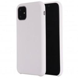 Kieto silikono (TPU) dėklas - baltas (iPhone 11)