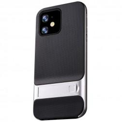 """""""Kickstand"""" dėklas - sidabrinis (iPhone 11)"""