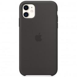 """Oficialus """"Apple"""" Silicone Case dėklas - juodas (iPhone 11)"""