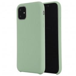 Kieto silikono (TPU) dėklas - žalias (iPhone 11)