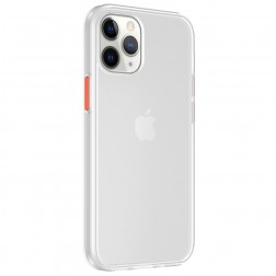 """""""IPAKY"""" Specter dėklas - skaidrus, baltas (iPhone 12 / 12 Pro)"""