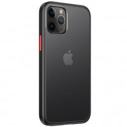 """""""IPAKY"""" Specter dėklas - skaidrus, juodas (iPhone 12 / 12 Pro)"""