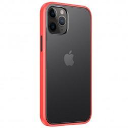 """""""IPAKY"""" Specter dėklas - skaidrus, raudonas (iPhone 12 / 12 Pro)"""