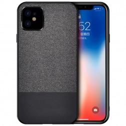 """""""Bi-Color"""" Splicing dėklas - juodas (iPhone 12 Mini)"""