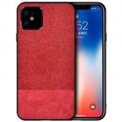 """""""Bi-Color"""" Splicing dėklas - raudonas (iPhone 12 Mini)"""