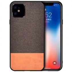"""Bi-Color"" Splicing dėklas - rudas (iPhone 12 Mini)"