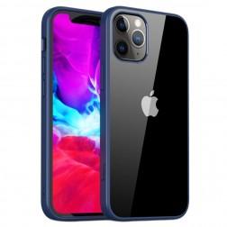 """""""IPAKY"""" Royal dėklas - skaidrus, mėlynas (iPhone 12 Mini)"""
