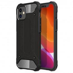 Sustiprintos apsaugos dėklas - juodas (iPhone 12 Mini)