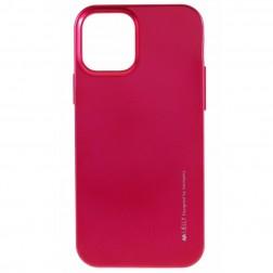 """""""Mercury"""" dėklas - tamsiai rožinis (iPhone 12 Mini)"""