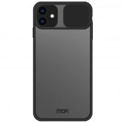 """Mofi"" CamShield dėklas - skaidrus (iPhone 12 Mini)"