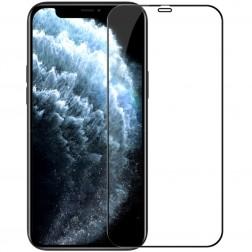 """""""Nillkin"""" CP 9H Tempered Glass apsauginis ekrano stiklas 0.33 mm - juodas (iPhone 12 Mini)"""