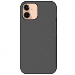 Ploniausias TPU dėklas - juodas (iPhone 12 Mini)