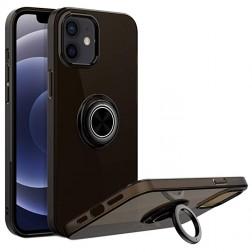 """""""Sheet"""" Kickstand (TPU) dėklas - juodas (iPhone 12 Mini)"""