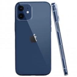 Ploniausias TPU dėklas - skaidrus (iPhone 12 Mini)