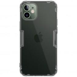 """""""Nillkin"""" Nature TPU skaidrus dėklas - pilkas (iPhone 12 / 12 Pro)"""