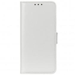 Atverčiamas dėklas, knygutė - baltas (iPhone 12 / 12 Pro)