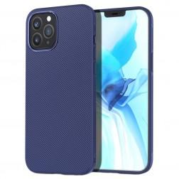 """""""Lenuo"""" kieto silikono (TPU) dėklas - mėlynas (iPhone 12 / 12 Pro)"""