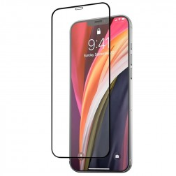 """Mocolo"" 3D Tempered Glass apsauginis ekrano stiklas 0.26 mm - juodas (iPhone 12 Pro Max)"