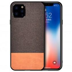 """""""Bi-Color"""" Splicing dėklas - rudas (iPhone 12 Pro Max)"""
