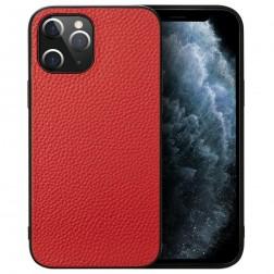 """Deluxe Leather"" dėklas - raudonas (iPhone 12 Pro Max)"