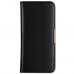 """""""Dzgogo"""" Royale atverčiamas dėklas - juodas (iPhone 12 Pro Max)"""