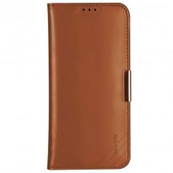 """""""Dzgogo"""" Royale atverčiamas dėklas - rudas (iPhone 12 Pro Max)"""