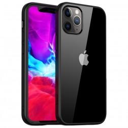 """""""IPAKY"""" Royal dėklas - skaidrus, juodas (iPhone 12 Pro Max)"""