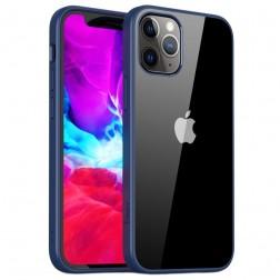 """""""IPAKY"""" Royal dėklas - skaidrus, mėlynas (iPhone 12 Pro Max)"""