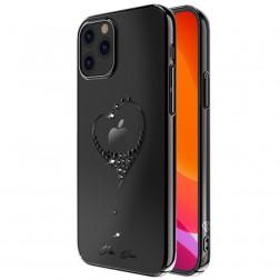 """""""Kingxbar"""" Love Swarovski dėklas - juodas (iPhone 12 Pro Max)"""