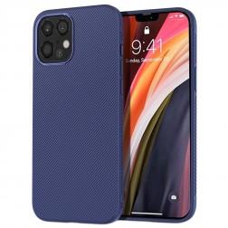 """""""Lenuo"""" kieto silikono (TPU) dėklas - mėlynas (iPhone 12 Pro Max)"""