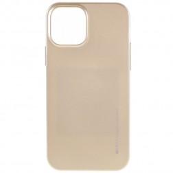 """""""Mercury"""" dėklas - auksinis (iPhone 12 Pro Max)"""