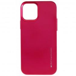 """""""Mercury"""" dėklas - tamsiai rožinis (iPhone 12 Pro Max)"""
