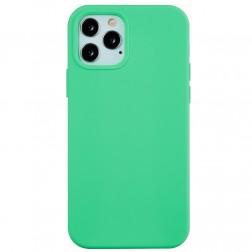 Kieto silikono (TPU) dėklas - mėtinis (iPhone 12 / 12 Pro)