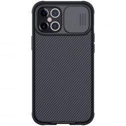 """""""Nillkin"""" CamShield dėklas - juodas (iPhone 12 Pro Max)"""