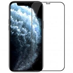 """""""Nillkin"""" CP 9H Tempered Glass apsauginis ekrano stiklas 0.33 mm - juodas (iPhone 12 Pro Max)"""