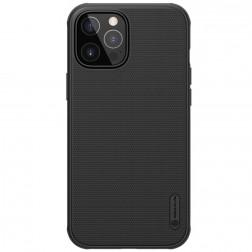 """Nillkin"" Frosted Shield Pro dėklas - juodas (iPhone 12 Pro Max)"