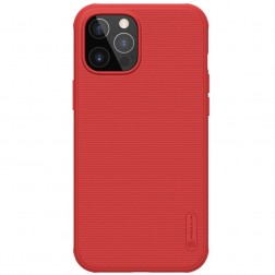 """Nillkin"" Frosted Shield Pro dėklas - raudonas (iPhone 12 Pro Max)"