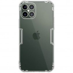 """""""Nillkin"""" Nature TPU dėklas - skaidrus (iPhone 12 Pro Max)"""