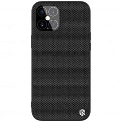 """""""Nillkin"""" Textured dėklas - juodas (iPhone 12 Pro Max)"""