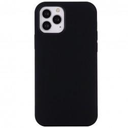 """""""Shell"""" MagSafe kieto silikono (TPU) dėklas - juodas (iPhone 12 Pro Max)"""