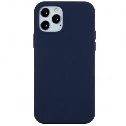 Kieto silikono (TPU) dėklas - tamsiai mėlynas (iPhone 12 Pro Max)