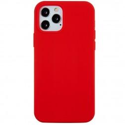 Kieto silikono (TPU) dėklas - raudonas (iPhone 12 Pro Max)