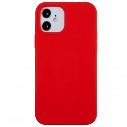 Kieto silikono (TPU) dėklas - raudonas (iPhone 12 Mini)