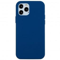 Kieto silikono (TPU) dėklas - mėlynas (iPhone 12 Pro Max)