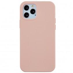 Kieto silikono (TPU) dėklas - šviesiai rožinis (iPhone 12 Pro Max)
