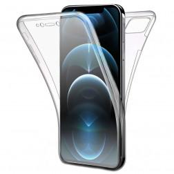Pilnai dengiantis TPU dėklas - skaidrus (iPhone 12 Pro Max)