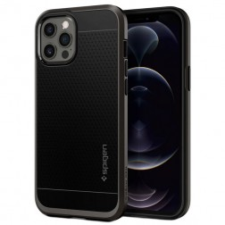 """Spigen"" Neo Hybrid dėklas - juodas (iPhone 12 Pro Max)"